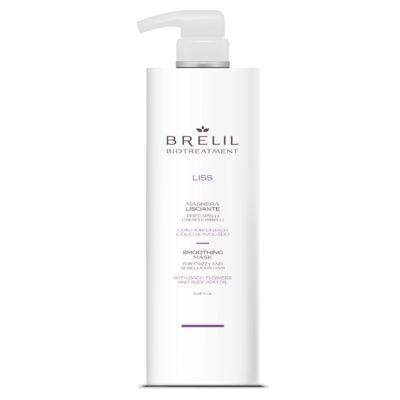 Brelil Biotreatement Liss Smoothing Mask 1000 ml - Selymesítő Pakolás