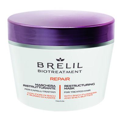 Brelil Biotreatement Repair Mask 220 ml - Szerkezethelyre állító Pakolás