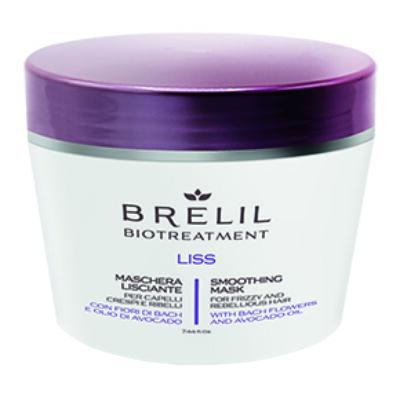 Brelil Biotreatement Liss Smoothing Mask 220 ml - Selymesítő Pakolás
