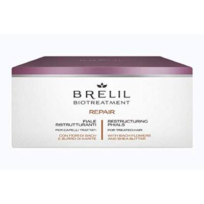 Brelil Biotreatment Repair Ampulla 12x10 ml - Hajszerkezet Helyreállító Hajszesz