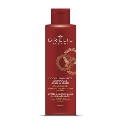 Brelil Biotreatment Solaire Aftersun Illuminating Oil - Napozás utáni csillámos száraz olaj 150 ml