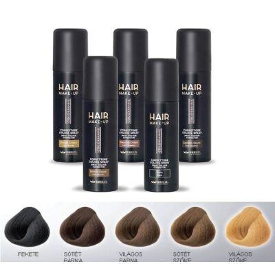 Hair Make Up Színkorrekciós Spray Világosbarna