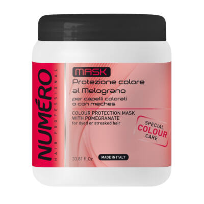 Numero Color Protection Mask with pomegranate